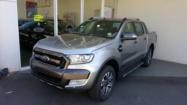 Demonstrator, Demo, Near New Ford Ranger Wildtrak Double Cab, Cheltenham, 2017 Ford Ranger Wildtrak Double Cab Utility