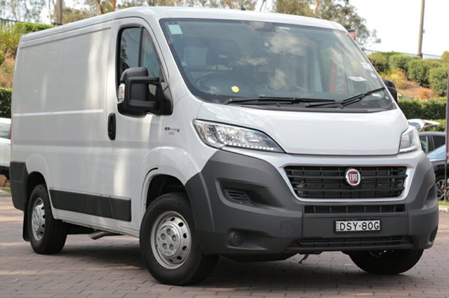 Discounted Demonstrator, Demo, Near New Fiat Ducato Low Roof SWB Comfort-matic, Southport, 2016 Fiat Ducato Low Roof SWB Comfort-matic Van