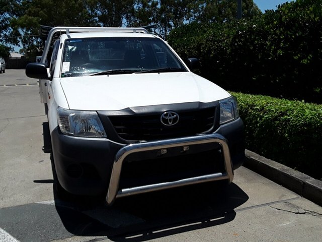 Used Toyota Hilux Workmate, Acacia Ridge, 2013 Toyota Hilux Workmate TGN16R MY12 Cab Chassis