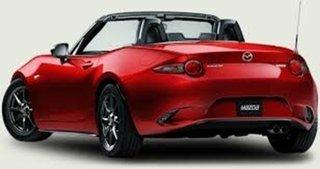 2017 Mazda MX-5 Convertible.