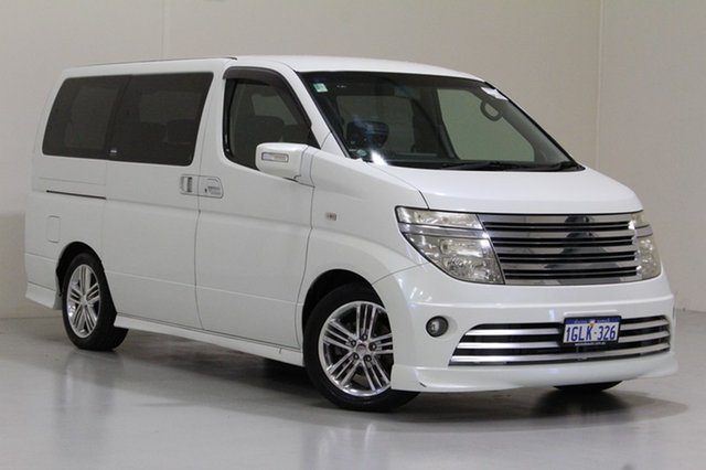 Used Nissan Elgrand Rider S, Bentley, 2004 Nissan Elgrand Rider S Wagon