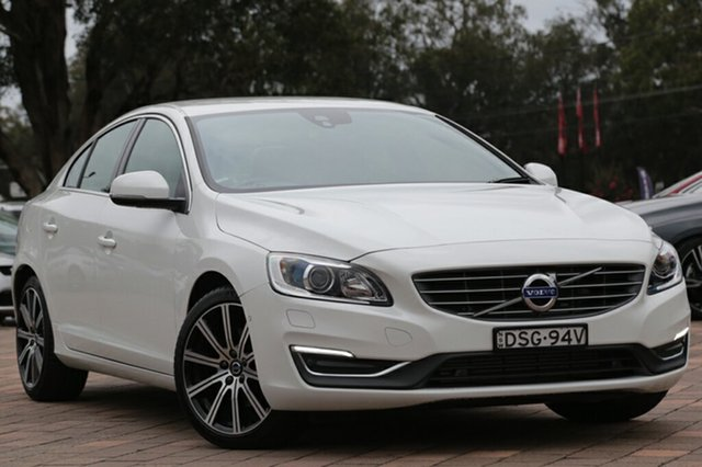 Discounted Demonstrator, Demo, Near New Volvo S60 T4 Adap Geartronic Luxury, Southport, 2016 Volvo S60 T4 Adap Geartronic Luxury Sedan