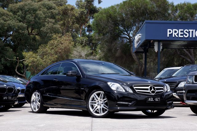 Used Mercedes-Benz E500 BlueEFFICIENCY 7G-Tronic Avantgarde, Balwyn, 2012 Mercedes-Benz E500 BlueEFFICIENCY 7G-Tronic Avantgarde Coupe