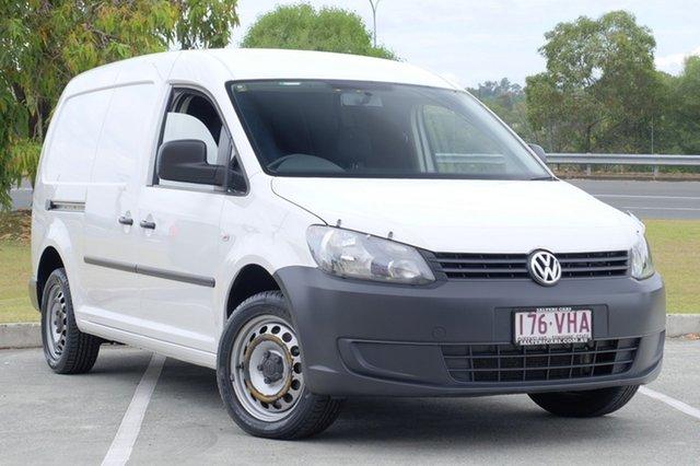 Used Volkswagen Caddy TDI320 Maxi DSG, Moorooka, Brisbane, 2014 Volkswagen Caddy TDI320 Maxi DSG Van