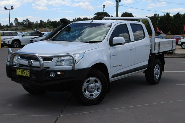 Used Holden Colorado LX (4x4), Bathurst, 2013 Holden Colorado LX (4x4) Crew Cab Chassis