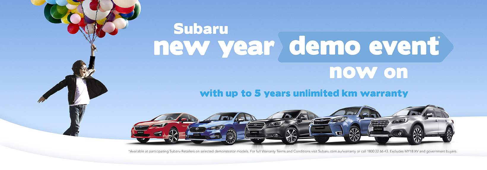 Subaru - National Offer -  Subaru New Year Event
