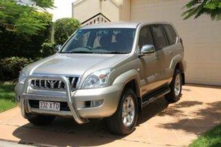 Discounted Used Toyota Landcruiser Prado GXL, Bundall, 2004 Toyota Landcruiser Prado GXL KZJ120R Wagon