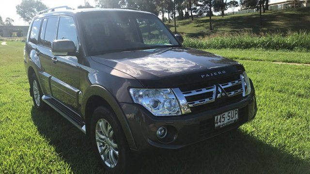 Discounted Used Mitsubishi Pajero VR-X LWB (4x4), 2013 Mitsubishi Pajero VR-X LWB (4x4) Wagon