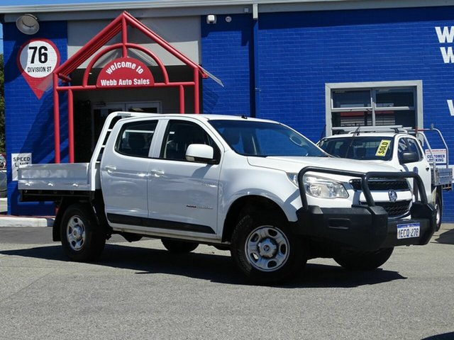 Discounted Used Holden Colorado RG Crew, Welshpool, 2012 Holden Colorado RG Crew Cab Chassis