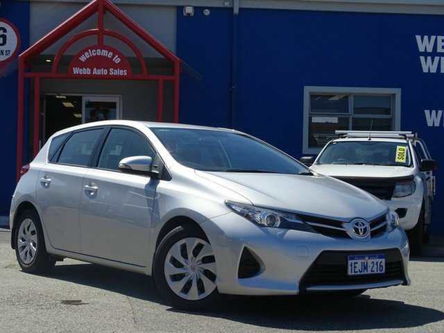 Discounted Used Toyota Corolla Ascent S-CVT, Welshpool, 2013 Toyota Corolla Ascent S-CVT Hatchback