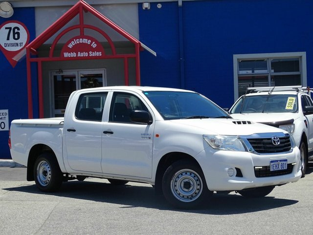 Discounted Used Toyota Hilux SR Double Cab, Welshpool, 2012 Toyota Hilux SR Double Cab Utility
