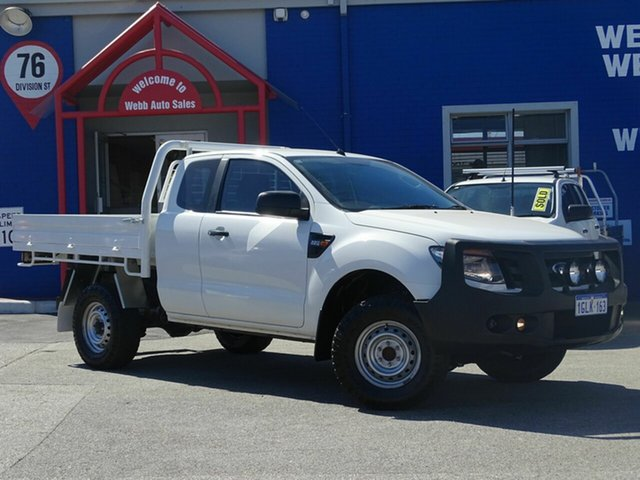 Discounted Used Ford Ranger XL Super Cab 4x2 Hi-Rider, Welshpool, 2014 Ford Ranger XL Super Cab 4x2 Hi-Rider Cab Chassis