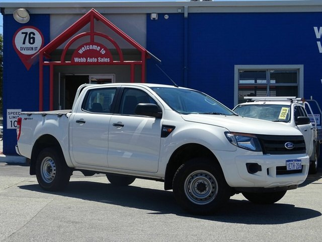 Discounted Used Ford Ranger XL Double Cab 4x2 Hi-Rider, Welshpool, 2014 Ford Ranger XL Double Cab 4x2 Hi-Rider Utility