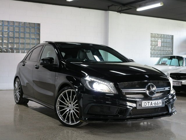 Used Mercedes-Benz A45 AMG SPEEDSHIFT DCT 4MATIC, Albion, 2015 Mercedes-Benz A45 AMG SPEEDSHIFT DCT 4MATIC Hatchback