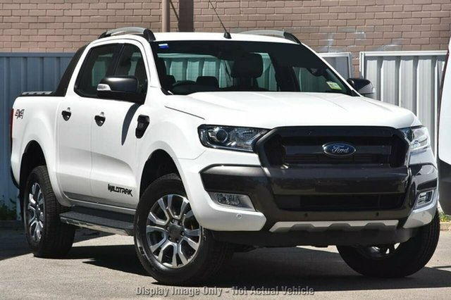 Demonstrator, Demo, Near New Ford Ranger Wildtrak Double Cab, Morley, 2017 Ford Ranger Wildtrak Double Cab Utility