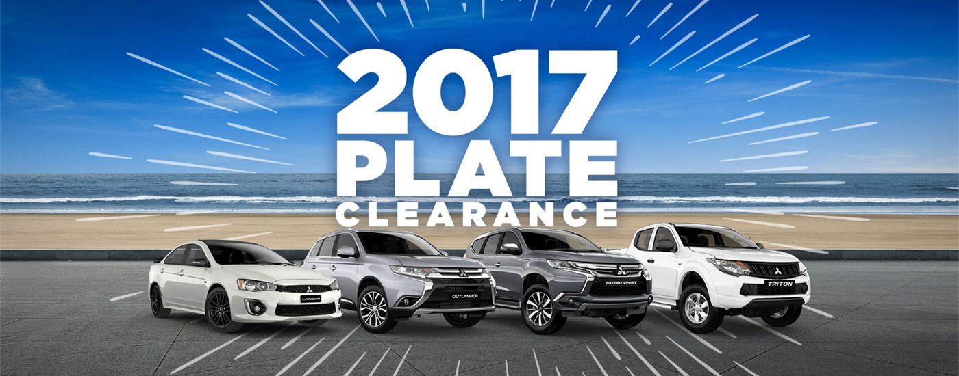 Mitsubishi - National Offer - 2017 Plate