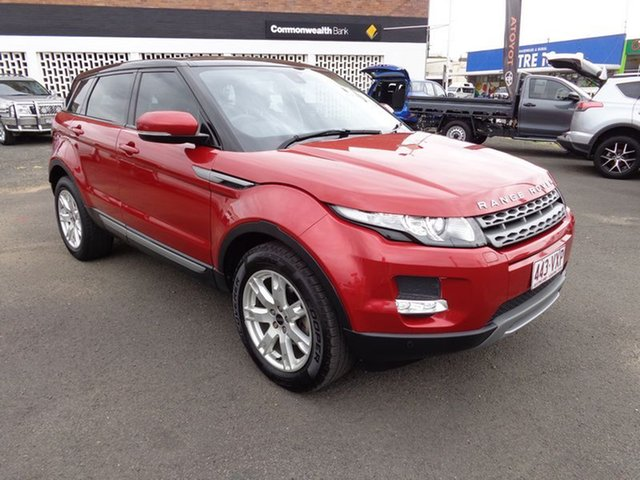 Discounted Used Land Rover Evoque SD4 Pure, 2012 Land Rover Evoque SD4 Pure Wagon