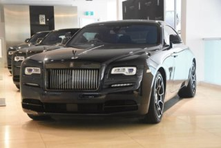 2018 Rolls-Royce Wraith Black Badge Coupe.