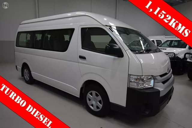 Used Toyota Hiace Commuter High Roof Super LWB, Kenwick, 2015 Toyota Hiace Commuter High Roof Super LWB Bus