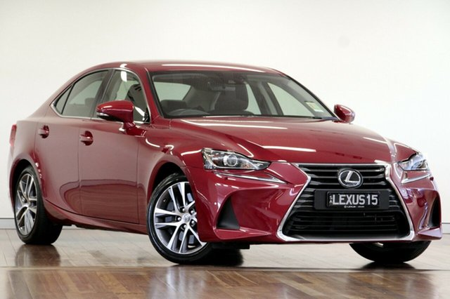 Demonstrator, Demo, Near New Lexus IS 200t Luxury, Adelaide, 2017 Lexus IS 200t Luxury Sedan