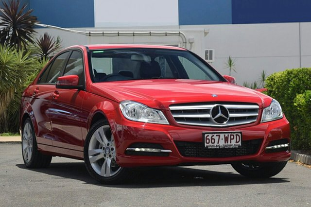 Used Mercedes-Benz C200 7G-Tronic +, Toowong, 2013 Mercedes-Benz C200 7G-Tronic + Sedan