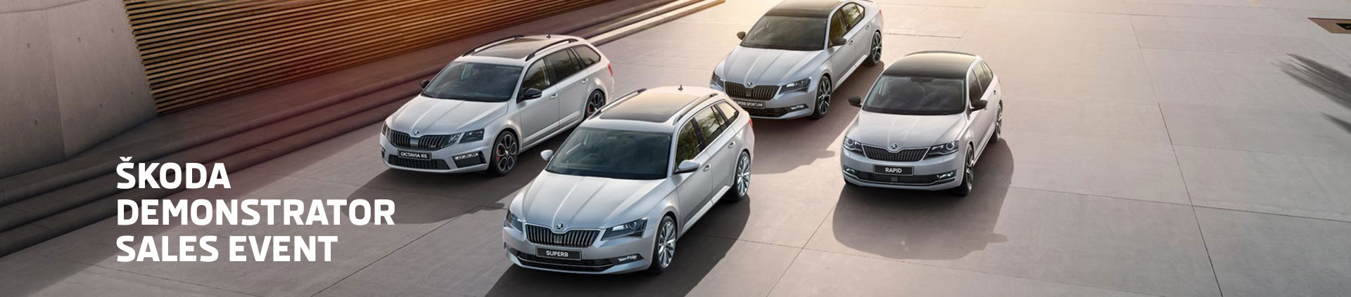 Skoda - National Offer - The Demonstrator Sales Event