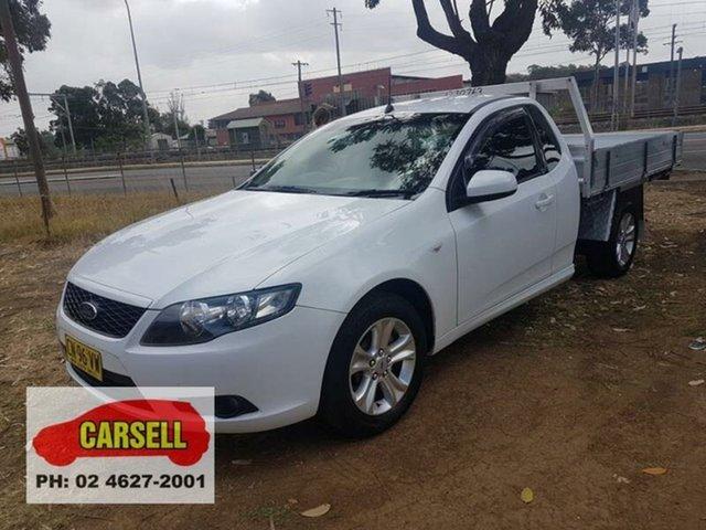 Used Ford Falcon R6 (LPG), Campbelltown, 2008 Ford Falcon R6 (LPG) Cab Chassis