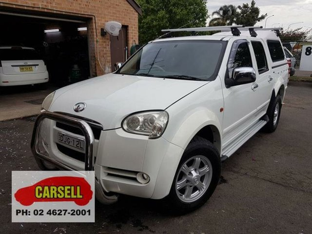 Used Great Wall V240 (4x4), Campbelltown, 2009 Great Wall V240 (4x4) Dual Cab Utility