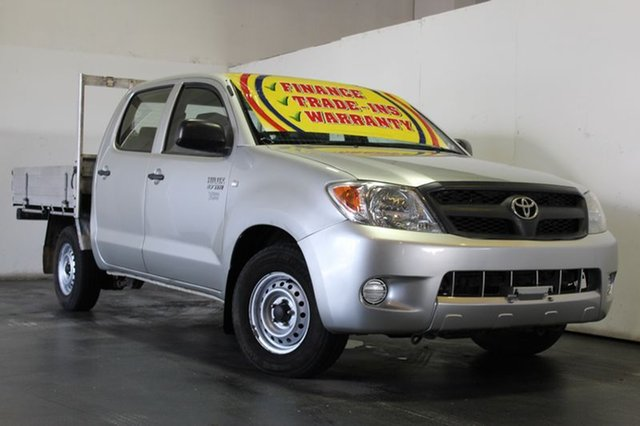 Used Toyota Hilux Workmate, Underwood, 2007 Toyota Hilux Workmate Cab Chassis
