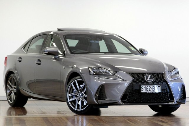 Demonstrator, Demo, Near New Lexus IS 200t F Sport, Adelaide, 2017 Lexus IS 200t F Sport Sedan