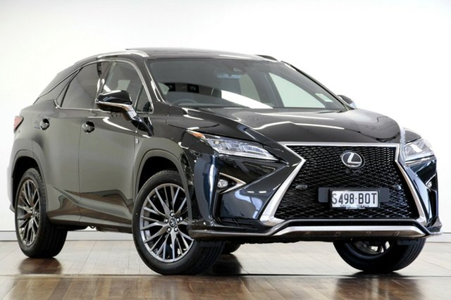 Demonstrator, Demo, Near New Lexus RX350 F Sport, Adelaide, 2017 Lexus RX350 F Sport Wagon
