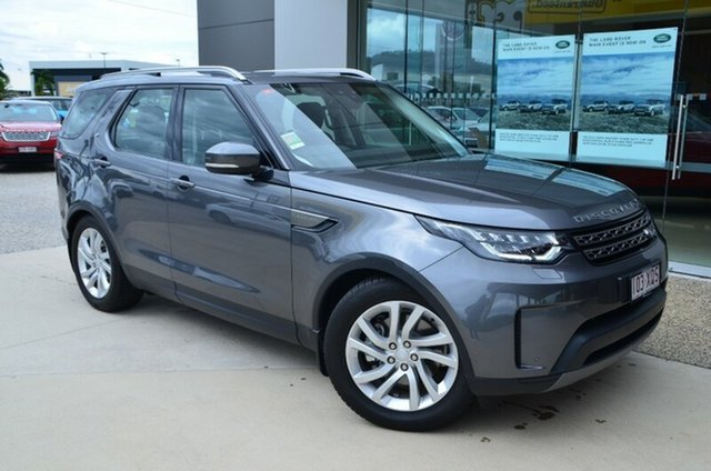 Demonstrator, Demo, Near New Land Rover Discovery SD4, Townsville, 2017 Land Rover Discovery SD4 Wagon