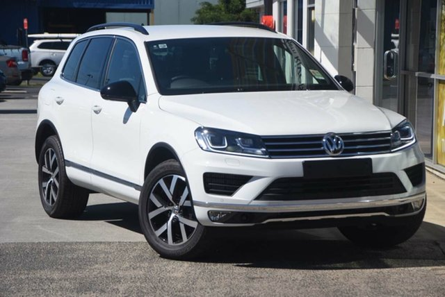 New Volkswagen Touareg 150TDI Tiptronic 4MOTION, Southport, 2017 Volkswagen Touareg 150TDI Tiptronic 4MOTION Wagon