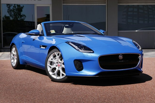 New Jaguar F-TYPE 221kW Quickshift RWD, Osborne Park, 2017 Jaguar F-TYPE 221kW Quickshift RWD Convertible
