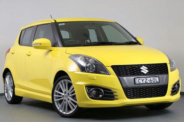 Used Suzuki Swift Sport, Narellan, 2014 Suzuki Swift Sport Hatchback