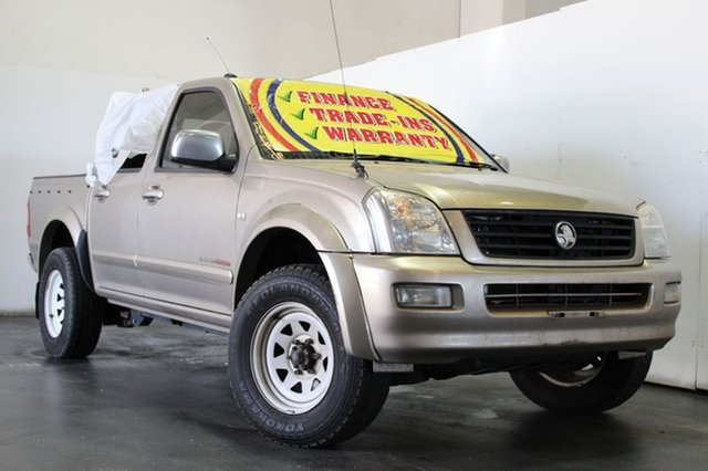 Used Holden Rodeo LT (4x4), Underwood, 2004 Holden Rodeo LT (4x4) Crew Cab Pickup
