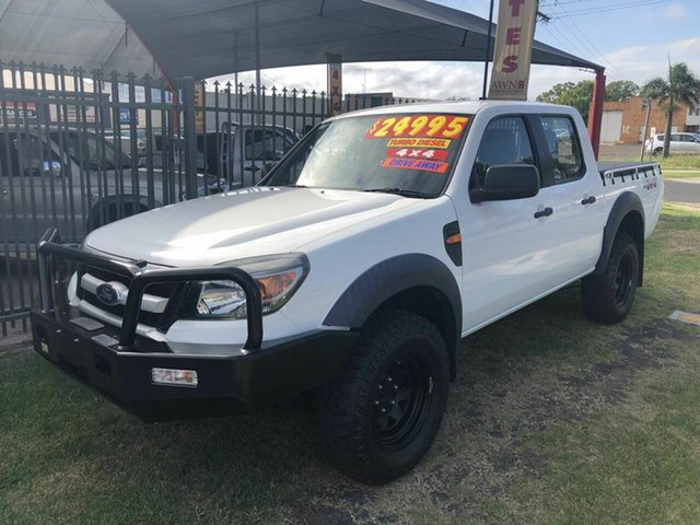 Discounted Used Ford Ranger XL (4x4), Toowoomba, 2009 Ford Ranger XL (4x4) Dual Cab Pickup