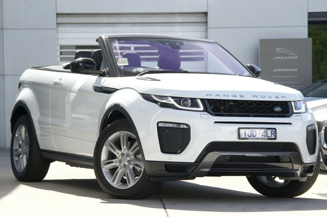 Discounted Demonstrator, Demo, Near New Land Rover Evoque TD4 180 HSE Dynamic, Gardenvale, 2017 Land Rover Evoque TD4 180 HSE Dynamic Convertible
