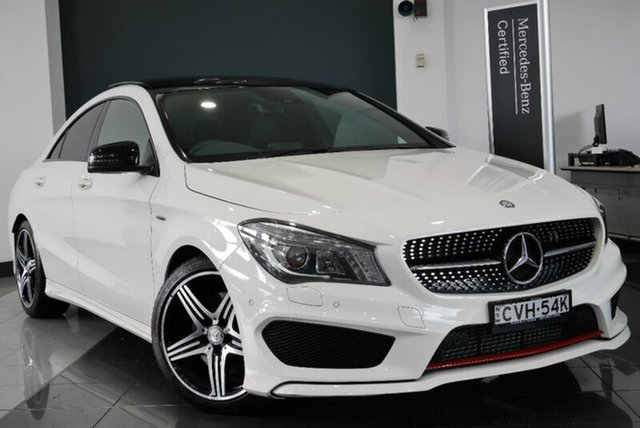 Demonstrator, Demo, Near New Mercedes-Benz CLA250 Sport DCT 4MATIC, Mosman, 2014 Mercedes-Benz CLA250 Sport DCT 4MATIC Coupe