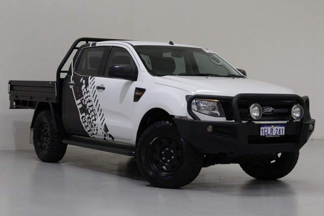 Used Ford Ranger XL 3.2 (4x4), Bentley, 2014 Ford Ranger XL 3.2 (4x4) Dual Cab Chassis