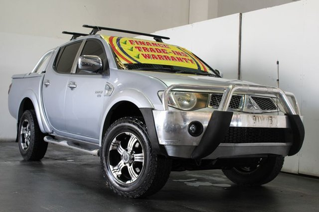 Used Mitsubishi Triton GLX-R (4x4), Underwood, 2010 Mitsubishi Triton GLX-R (4x4) Double Cab Utility
