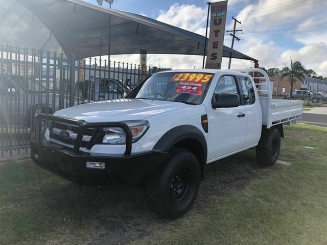 Discounted Used Ford Ranger XL (4x4), Toowoomba, 2011 Ford Ranger XL (4x4) Super Cab Chassis