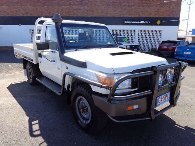 Discounted Used Toyota Landcruiser Workmate (4x4), 2012 Toyota Landcruiser Workmate (4x4) Cab Chassis