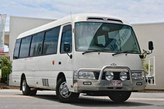 Toyota Coaster, Robina, 2012 Toyota Coaster XZB50R Bus