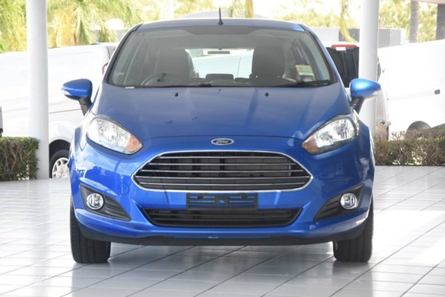 Discounted Demonstrator, Demo, Near New Ford Fiesta Trend PwrShift, Southport, 2017 Ford Fiesta Trend PwrShift Hatchback