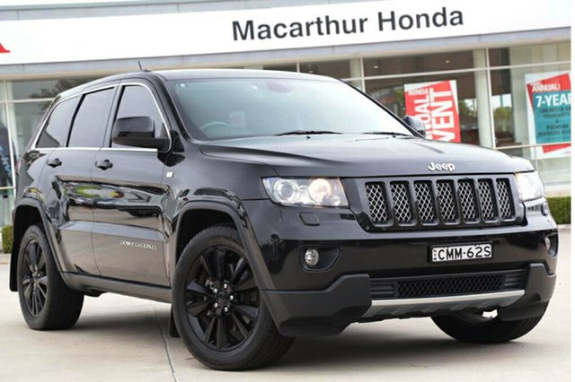 Used Jeep Grand Cherokee JET, Narellan, 2012 Jeep Grand Cherokee JET SUV
