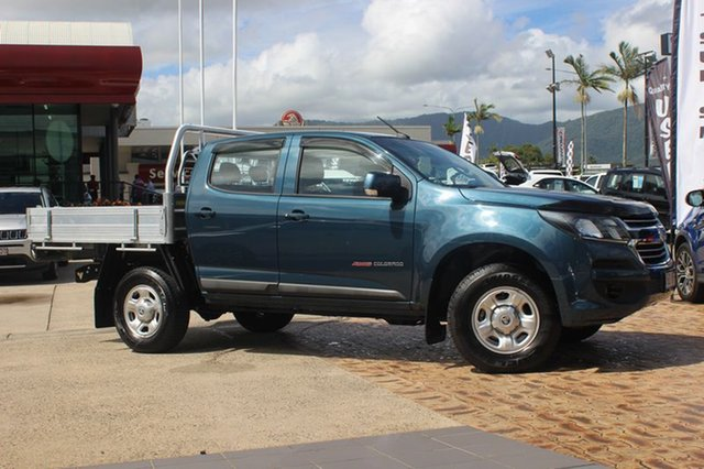 Used Holden Colorado LS Crew Cab, Cairns, 2016 Holden Colorado LS Crew Cab Cab Chassis