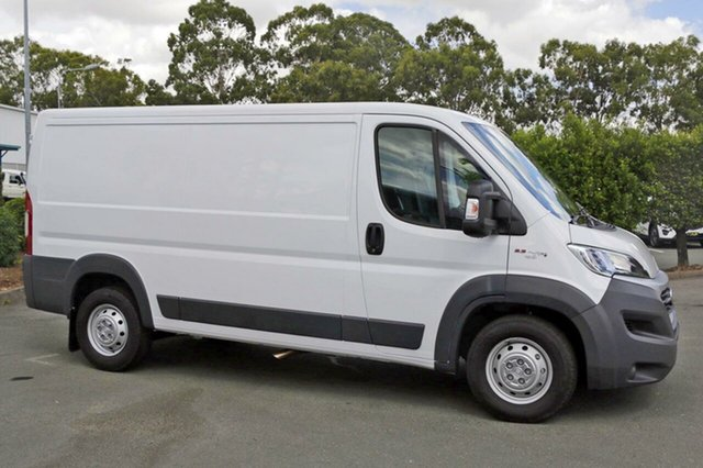 Demonstrator, Demo, Near New Fiat Ducato Low Roof MWB, Acacia Ridge, 2017 Fiat Ducato Low Roof MWB Series 6 Van
