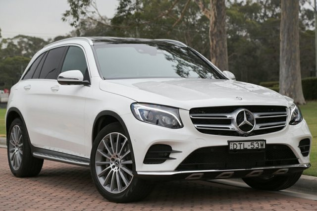 Discounted Used Mercedes-Benz GLC250 d 9G-TRONIC 4MATIC, Warwick Farm, 2017 Mercedes-Benz GLC250 d 9G-TRONIC 4MATIC SUV