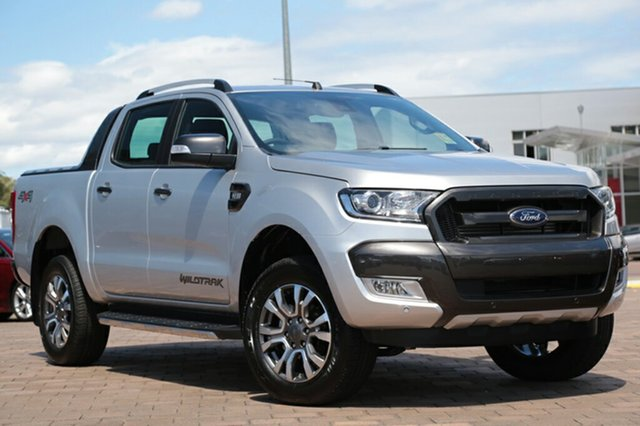 Discounted Demonstrator, Demo, Near New Ford Ranger Wildtrak Double Cab, Warwick Farm, 2017 Ford Ranger Wildtrak Double Cab Utility